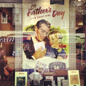 the father's day poster in paperchase