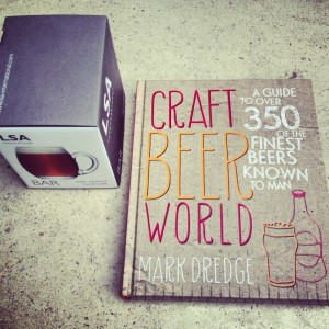beer glass and craft beer book, steamer trading, lewes
