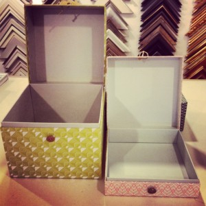 boxes open, kings framers, lewes