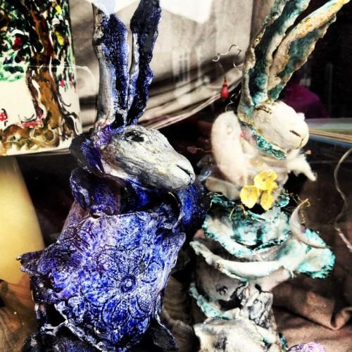 clay-handmade-rabbits