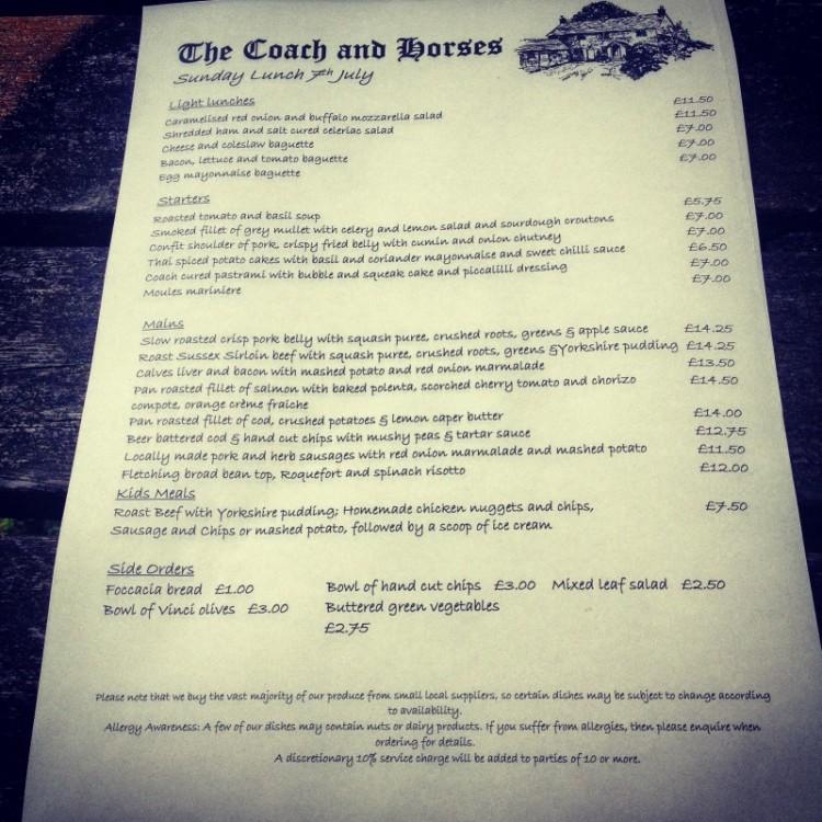 a-pub-menu