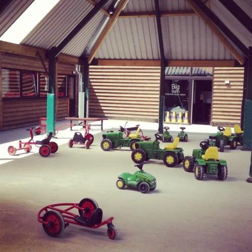 play-tractors-at-farm