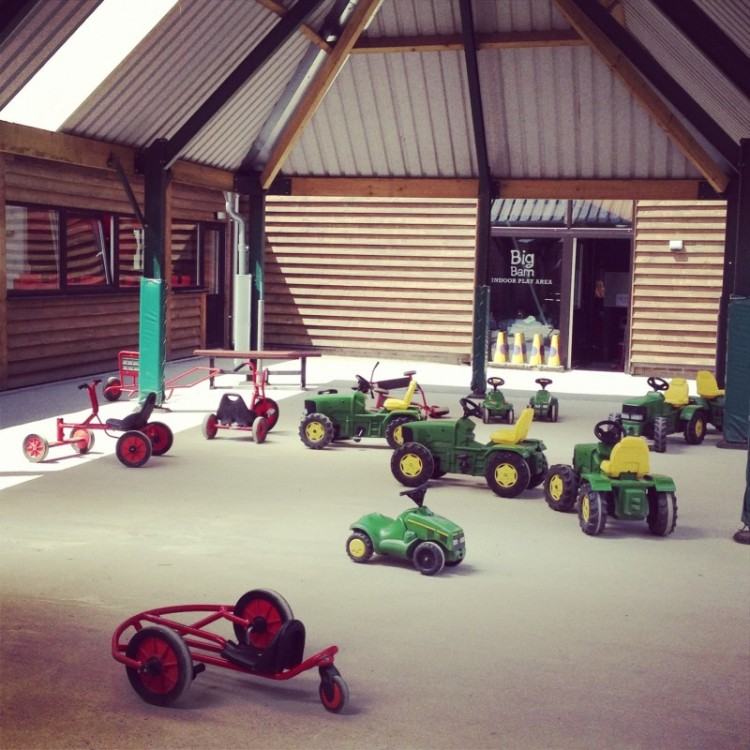 mini-tractors-at-a-playfarm