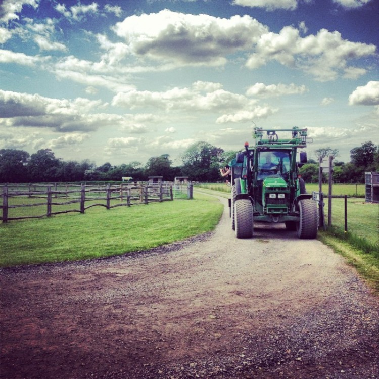 tractor-at-a-playfarm