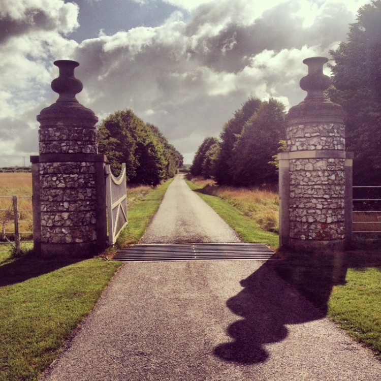 stone-gate-posts-and-a-long-drive