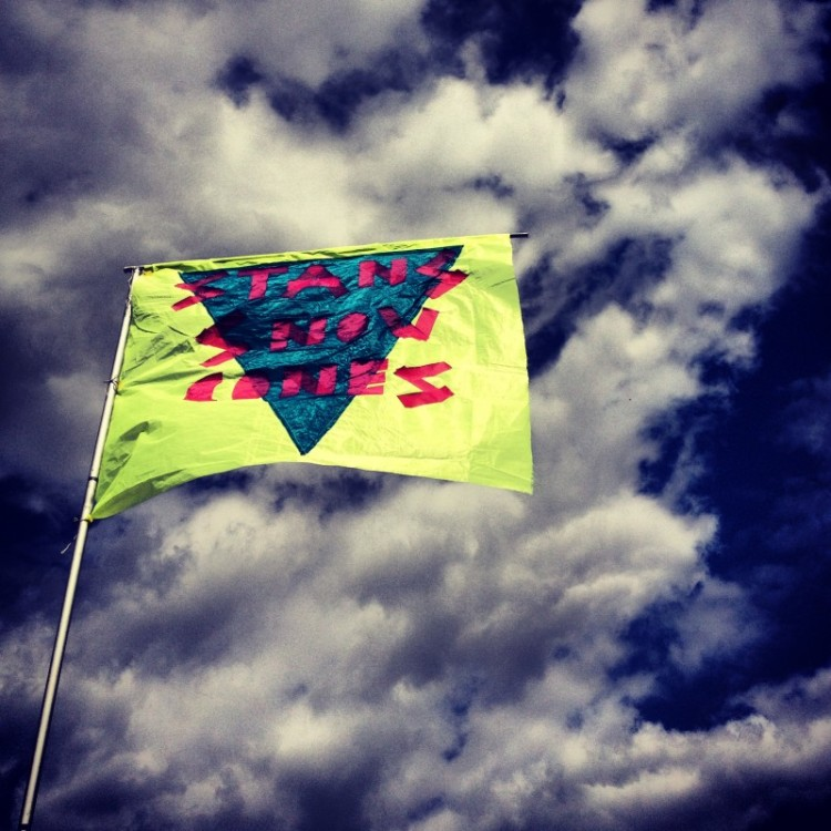 flag-against-the-sky