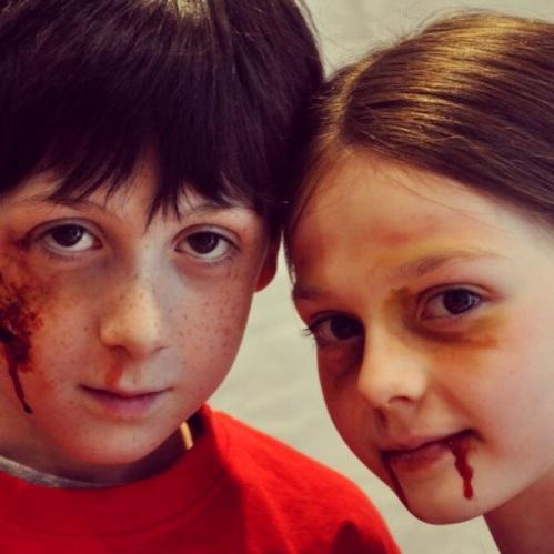children-in-spooky-facepaint