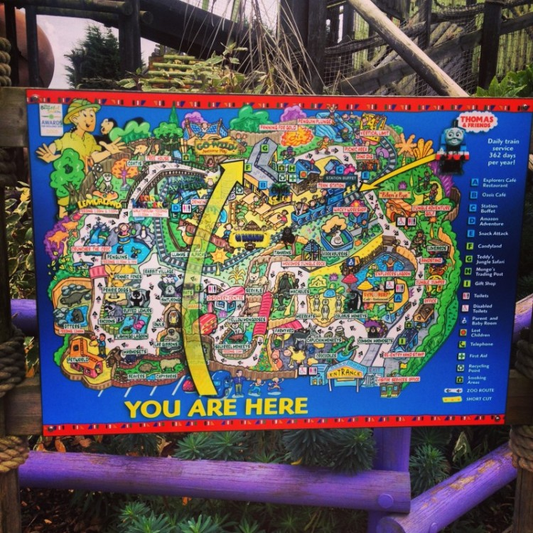 map-of-theme-park