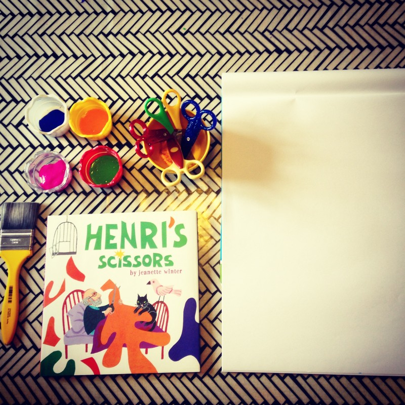 inspired by matisse bringing henri s scissors to life little lewes
