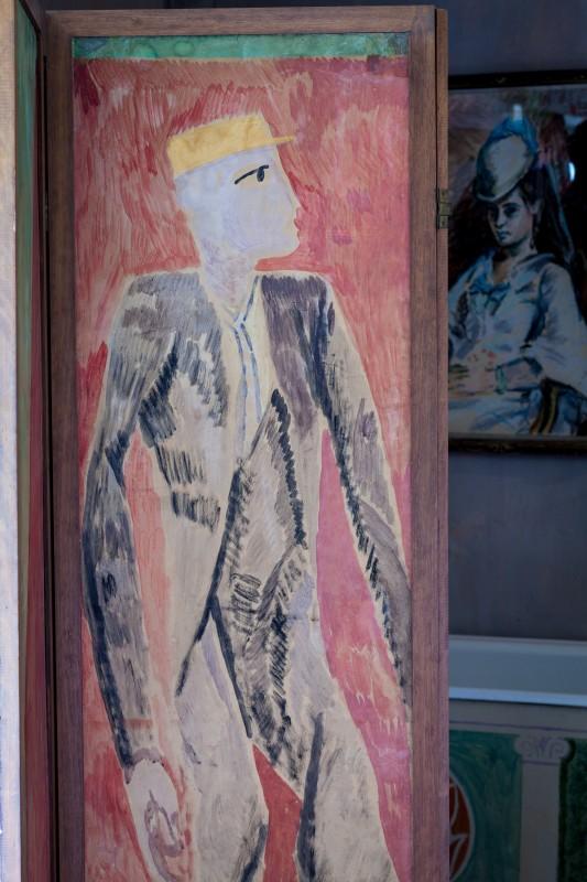 Charleston. screen. v.B's room. photo. 10-12. original. p.fewster