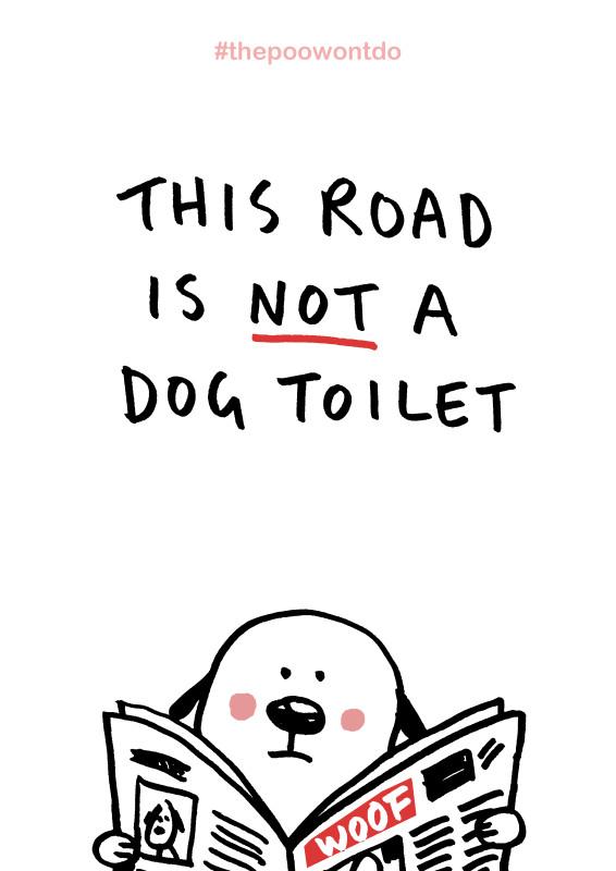 Toilet DogA4