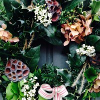 Handmade from the Hedgerows: Winter Wreaths by petalsrperfect, Lewes